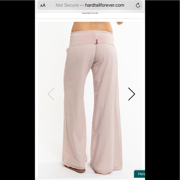Hard Tail Pants - Hard Tail double layer roll top pants size large